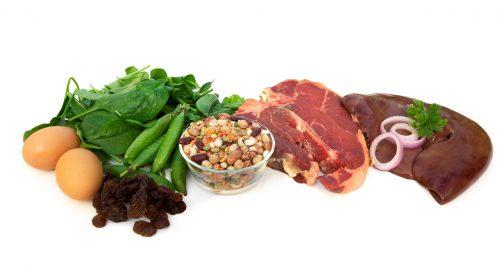Thực phẩm chứa nhiều sắt phòng bệnh thiếu máu não