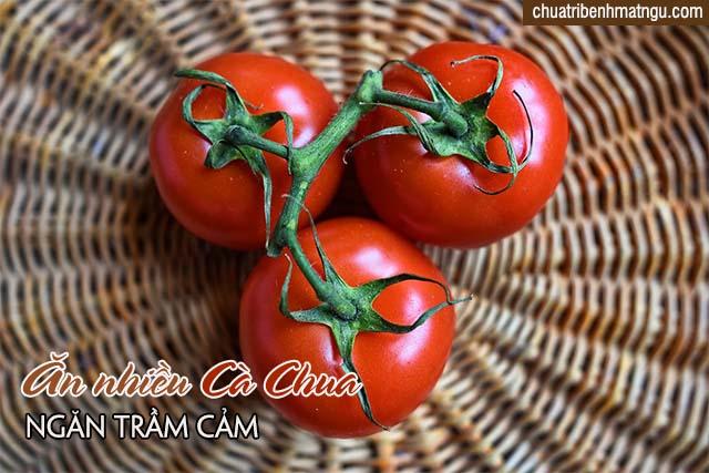 dùng nhiều cà chua.