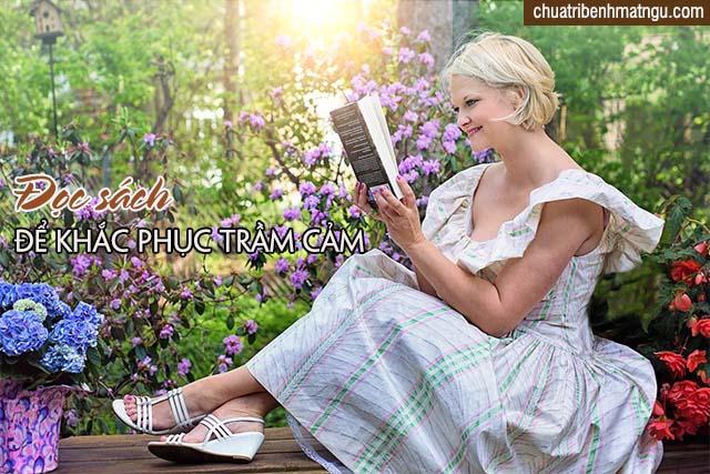 Đọc sách giảm trầm cảm