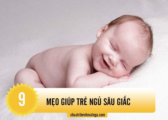 Mách bạn mẹo giúp trẻ ngủ sâu giấc