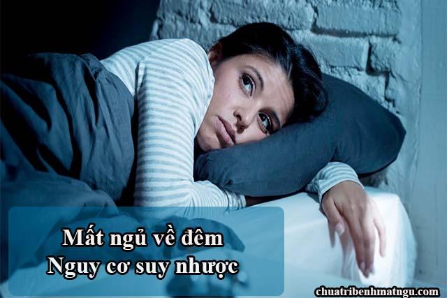Triệu chứng bệnh mất ngủ đó là khó ngủ