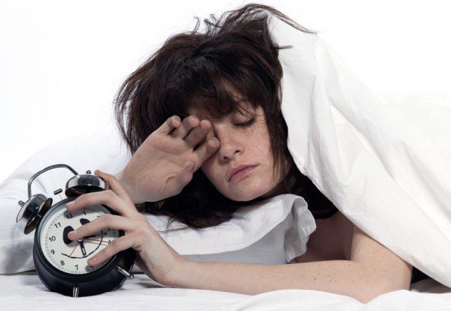 Ngáp liên tục do rối loạn giấc ngủ