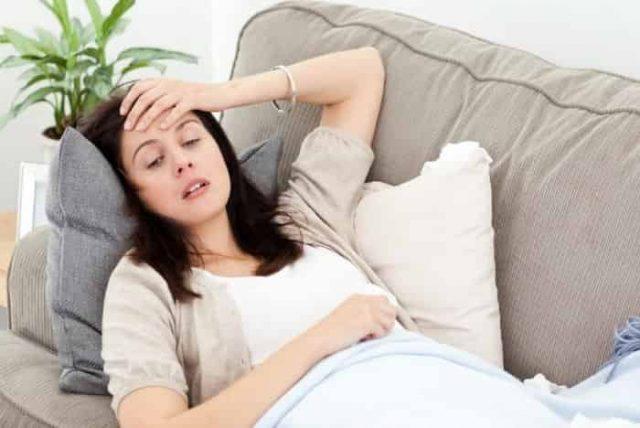 Ngáp liên tục do cơ thể mệt mỏi