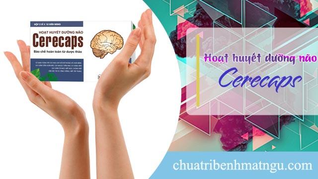 Hoạt huyết dưỡng não Cerecaps