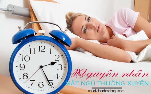 Nguyên nhân gây mất ngủ thường xuyên kéo dài