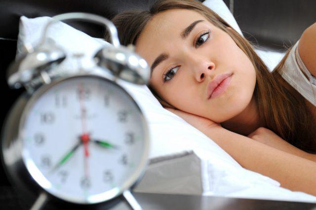 Bệnh stress biểu hiện của chứng mất ngủ