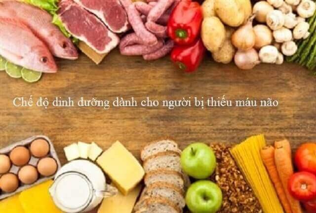 Cải thiện chế độ ăn uống khắc phục bệnh thiếu máu não