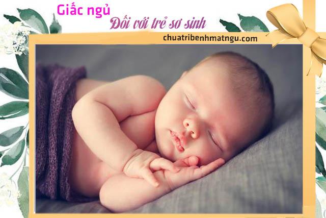 Giấc ngủ đối với trẻ sơ sinh