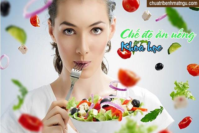 Chế độ ăn uống hợp lý và khoa học