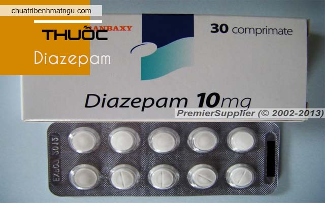 thuốc ngủ liều nhẹ Diazepam