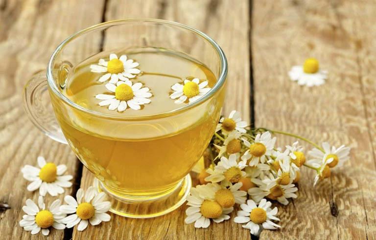 Cải thiện chất lượng giấc ngủ bằng trà hoa cúc