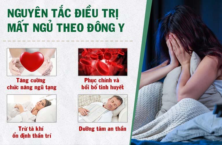 Nguyên tắc điều trị bệnh mất ngủ theo Đông y