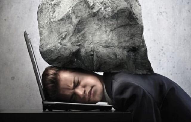 bị căng thẳng stress gây mất ngủ