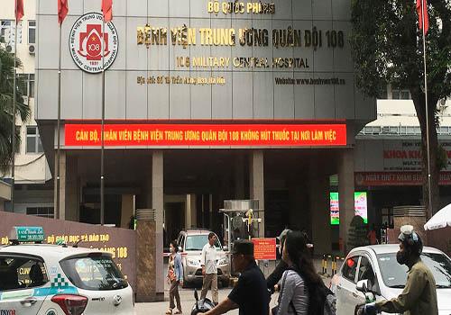 Bệnh viện 108 thăm khám rối loạn tiền đình hiệu quả