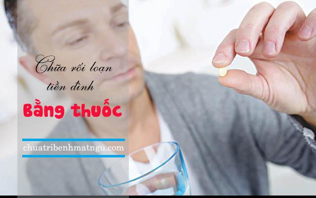 Điều trị rối loạn tiền đình bằng thuốc
