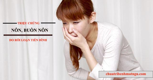 Dấu hiệu bệnh rối loạn tiền đình