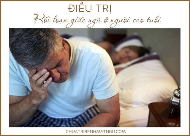 Điều trị rối loạn giấc ngủ ở người cao tuổi