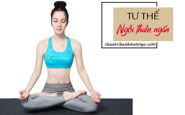 yoga điều trị mất ngủ