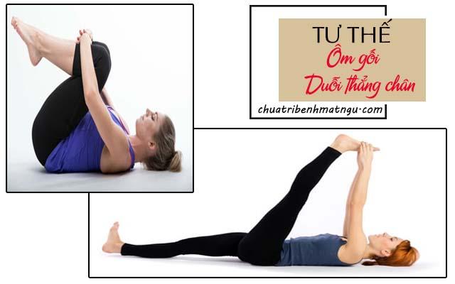 tập yoga trị mất ngủ