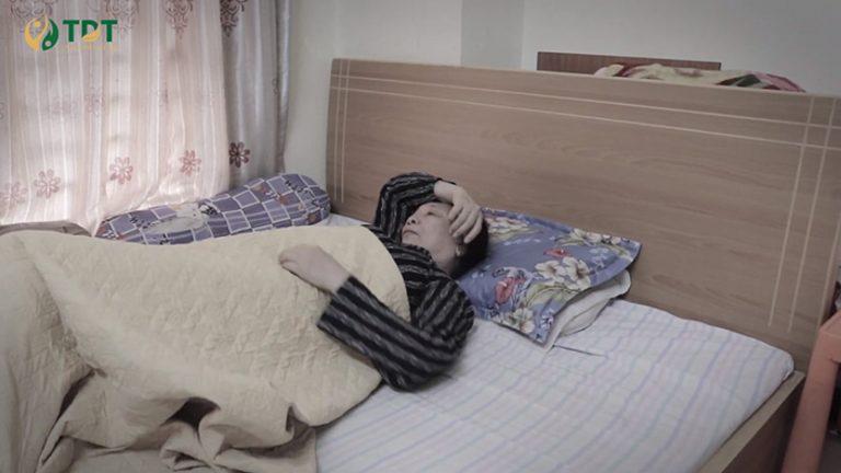 Bà Hoàng Thị Đức bị mất ngủ suốt 10 năm