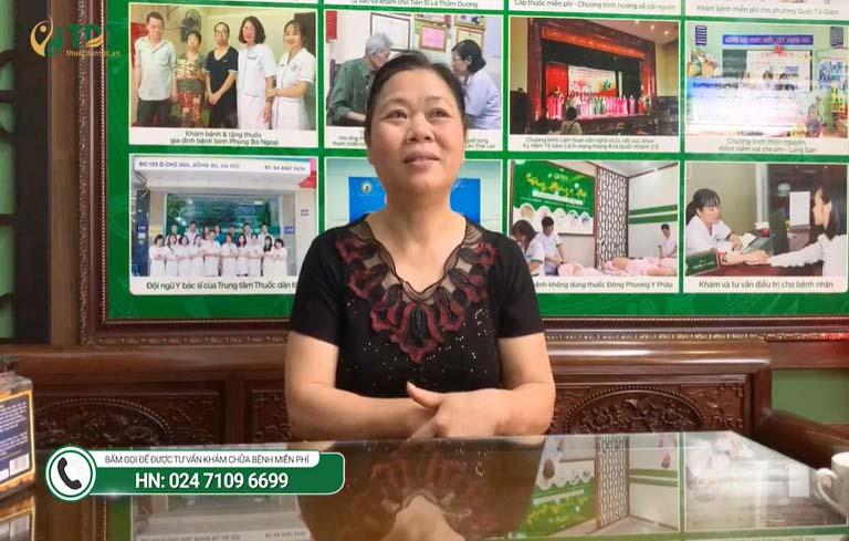 Cô Hoàng Thị Lý chia sẻ hành trình điều trị mất ngủ