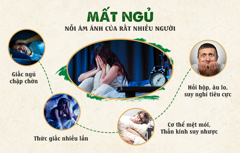 Mất ngủ kéo dài gây nhiều hệ lụy ảnh hưởng sức khỏe, tinh thần của người bệnh
