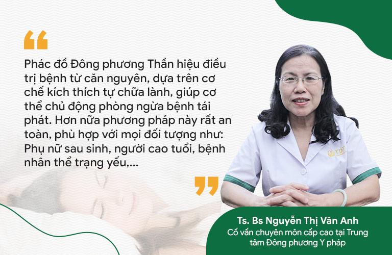 Bác sĩ Vân Anh chia sẻ