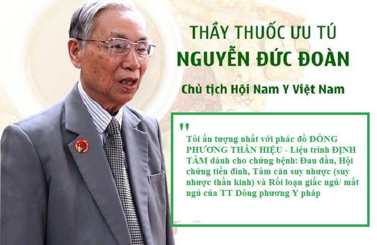 Thầy thuốc ưu tú Nguyễn Đức Đoàn chia sẻ