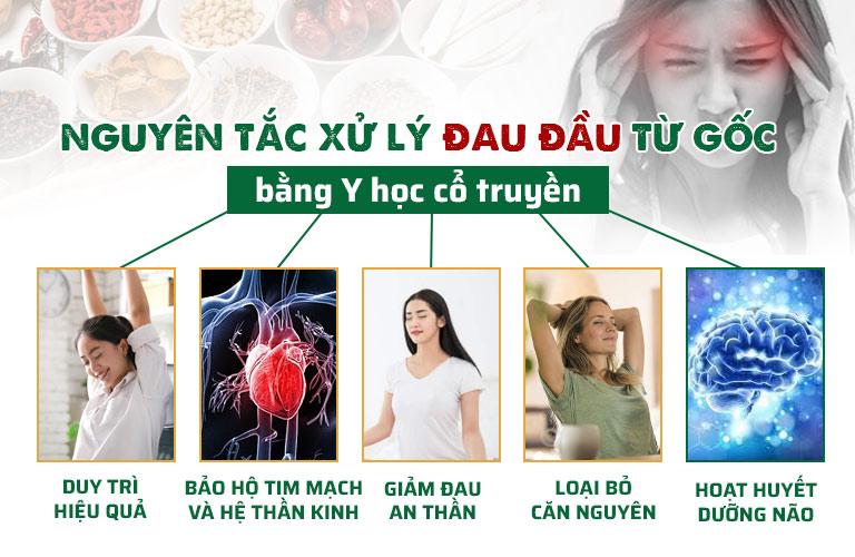 Y học cổ truyền xử lý đau đầu an toàn, kết hợp dưỡng tâm - an thần hiệu quả